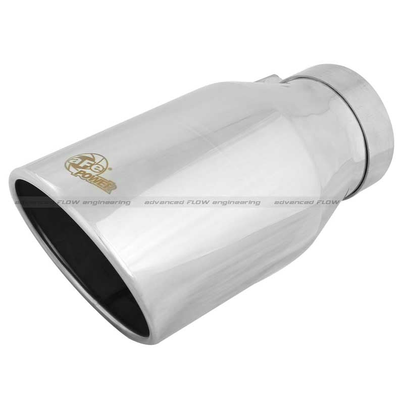 "AFE Polished 4""x6""x 12"" Exhaust Tip"
