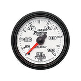 Auto Meter Phantom II Series Oil Pressure Gauge 7521