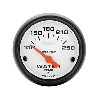 Auto Meter 5737 Phantom Series Water Temp Gauge