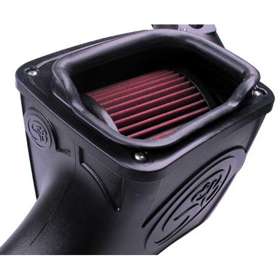S&B Filters Cold Air Intake (Cleanable) 6.0L Powerstroke