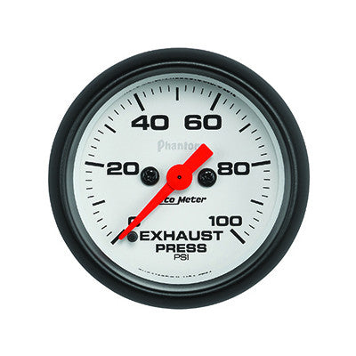 Auto Meter 5794 Phantom Series Exhaust Pressure Gauge