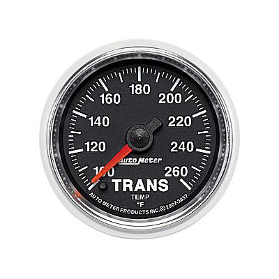 Auto Meter 3857 GS Series Transmission Temp Gauge