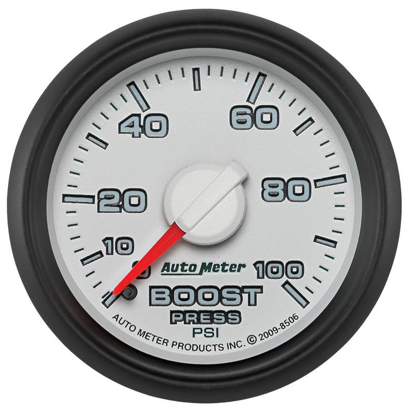 Auto Meter 0-100 PSI Factory Matched Boost Gauge 2003-2009 Dodge