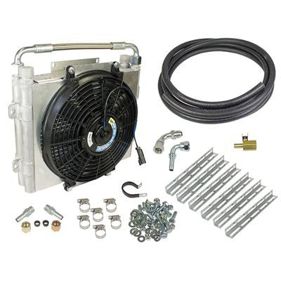BD-Power Double-Stacked Auxiliary Trans Cooler Kit