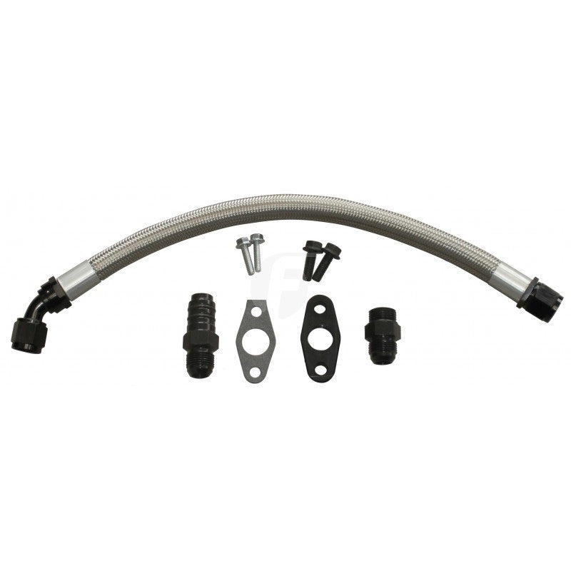 Fleece 2nd Gen Cummins Turbo Drain Kit
