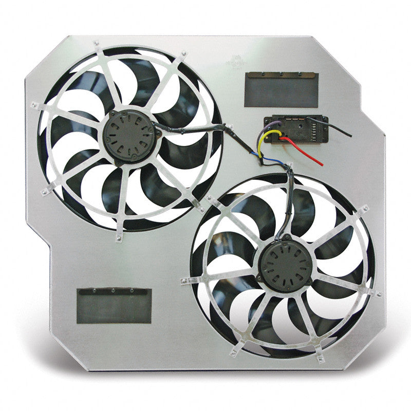 FLEX-A-LITE DIRECT-FIT DUAL ELECTRIC COOLING FANS