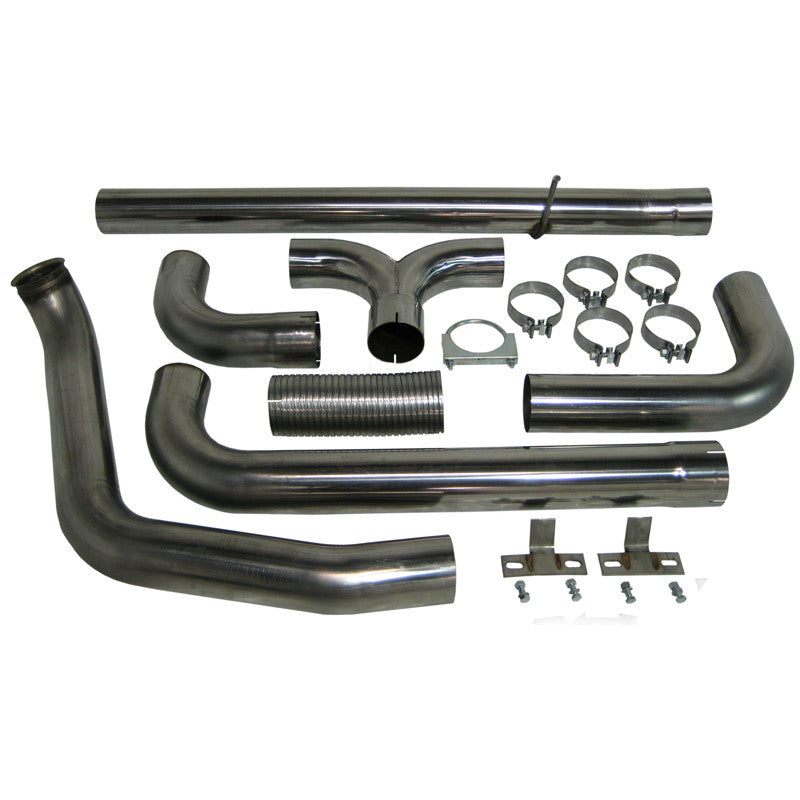 "MBRP 4"" XP Series Turbo Back Dual Stack Exhaust 1999-03 7.3L Powerstroke"