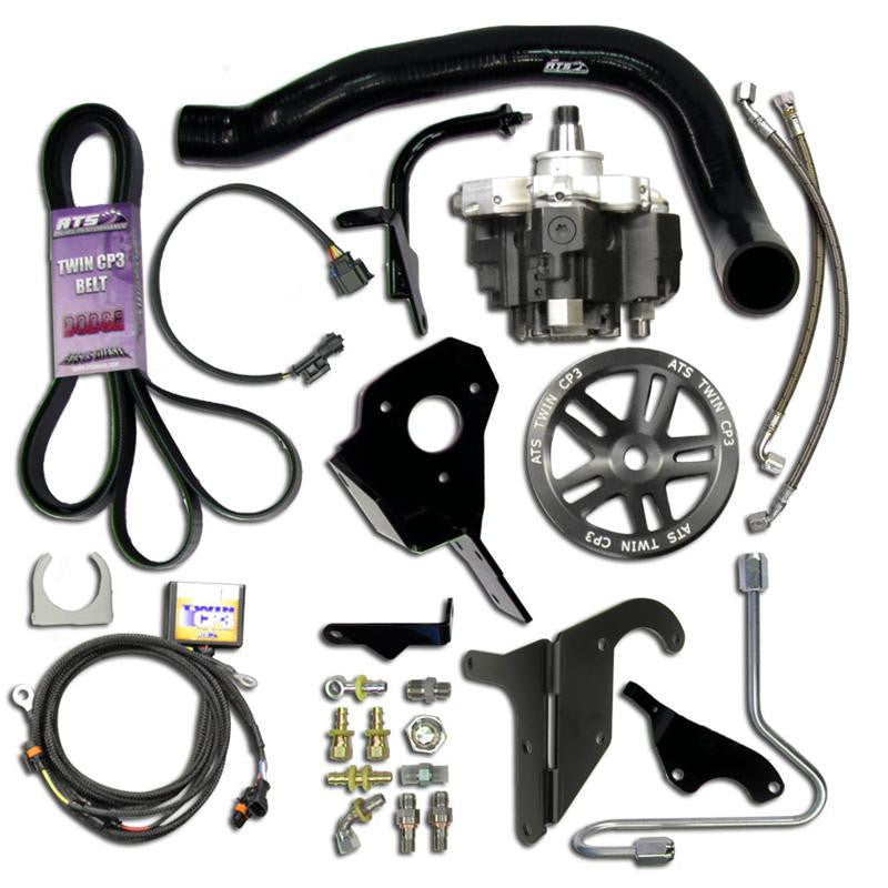 ATS Twin Fueler Injection System (with pump) - 2004.5-07 Dodge 5.9L