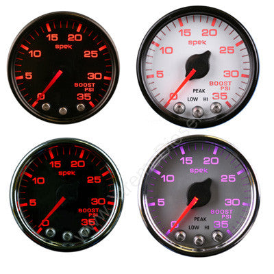 ProParts SPEK Electronic Boost Gauge