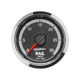 Auto Meter 0-30,000 PSI Factory Matched Rail Pressure Gauge