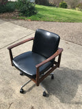 Office Swivel Chair 1960s TH Brown