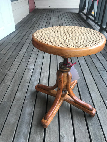 Bentwood Piano Stool