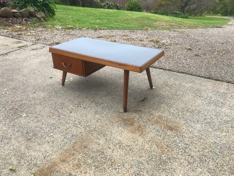 60s Vitrolite Coffee Table