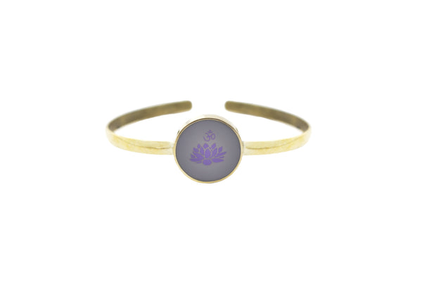 """I AM LIGHT"" - Crown Chakra - Bali Bracelets"