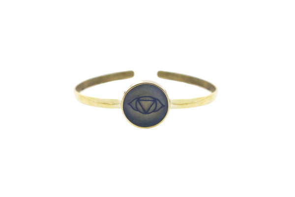 """I AM AWARE"" - Third Eye Chakra - Bali Bracelets"