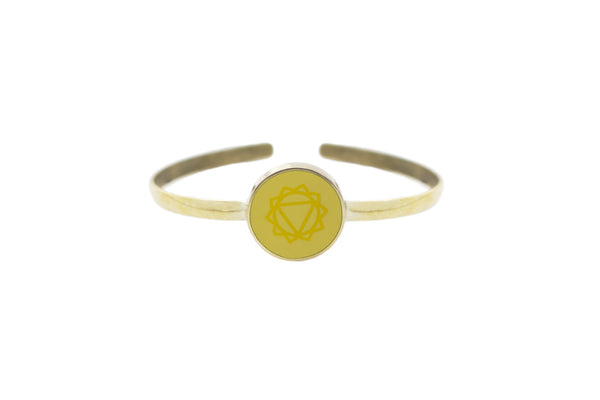 """I AM POWERFUL"" - Solar Plexus Chakra - Bali Bracelets"