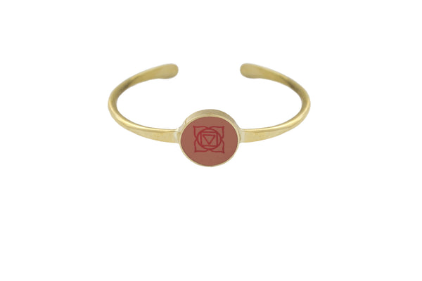 """I AM CONNECTED"" - Root Chakra - Bali Bracelets"