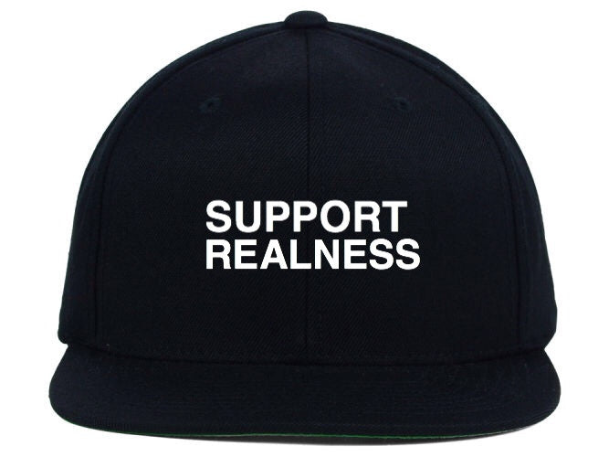 SUPPORT REALNESS SNAPBACK