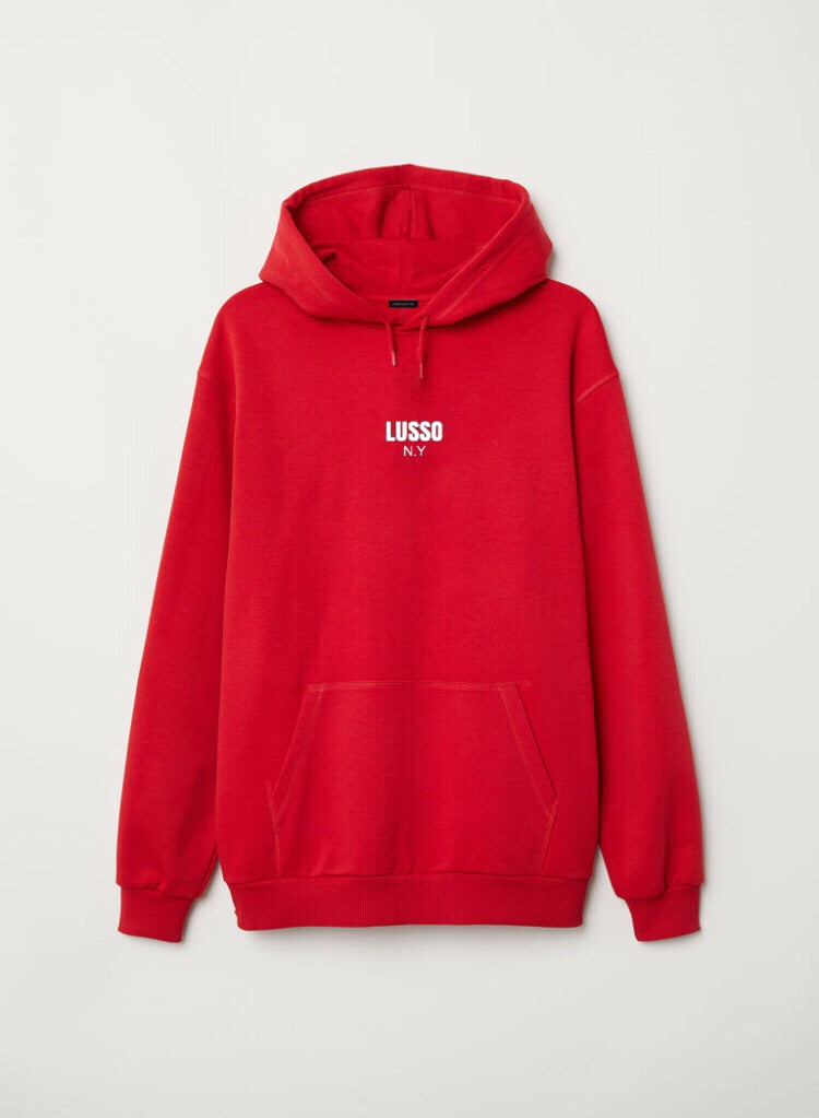 NY8 Byway Hoodie (Rosso Red)