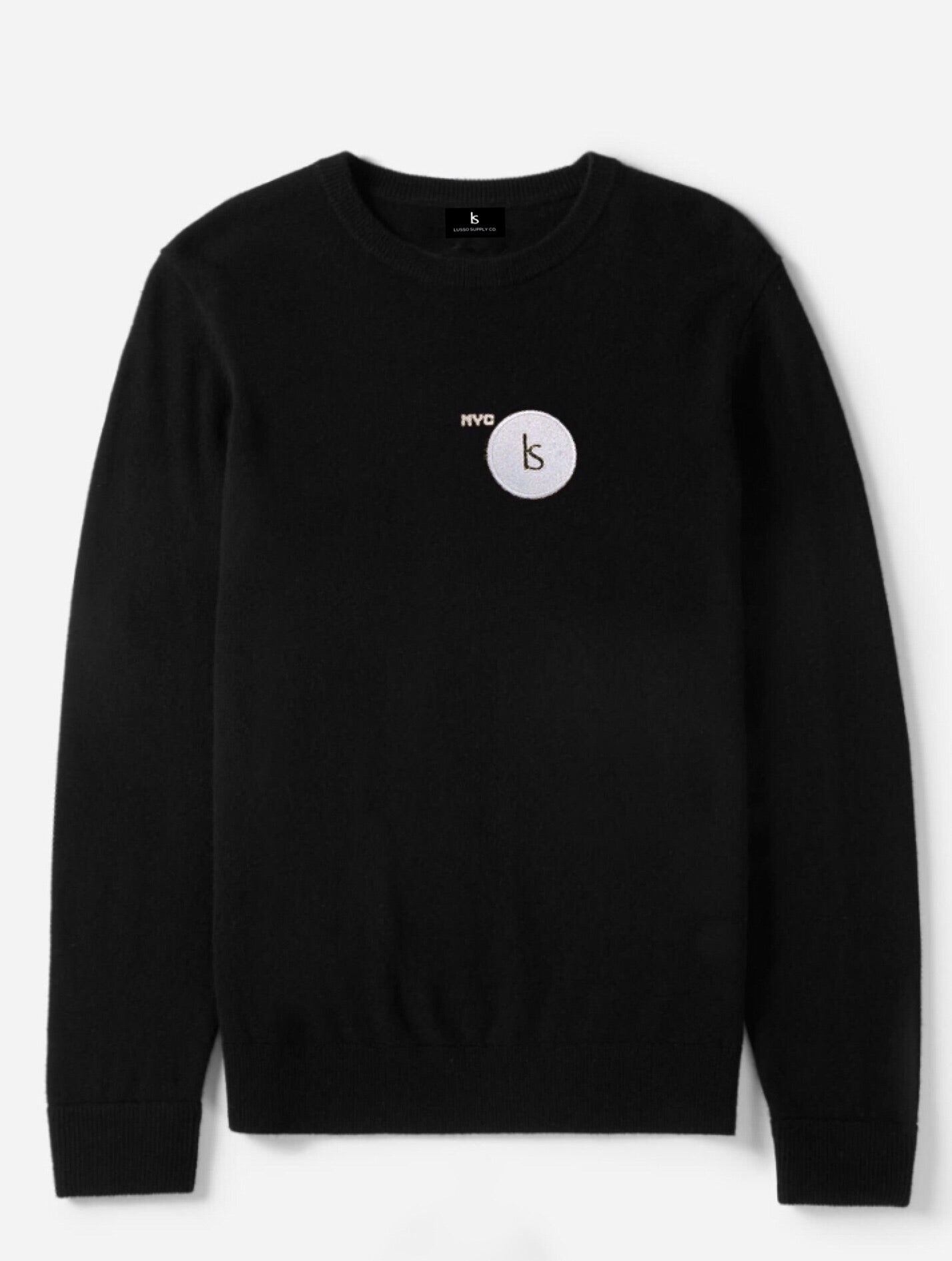 NY6 Byway Crewneck (NYC TAXICAB BLACK EDITION)