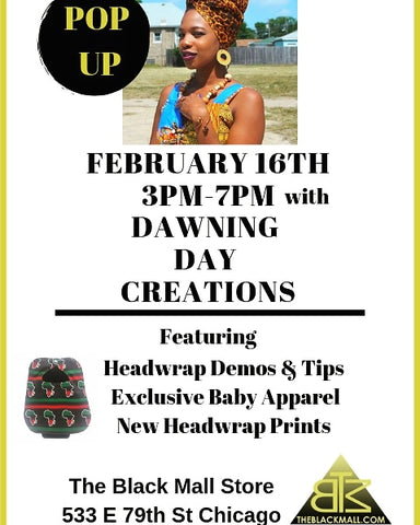 February 2019 Pop Up Shop