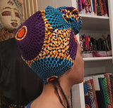 GRAND RISING - Premium African Print Head Wrap