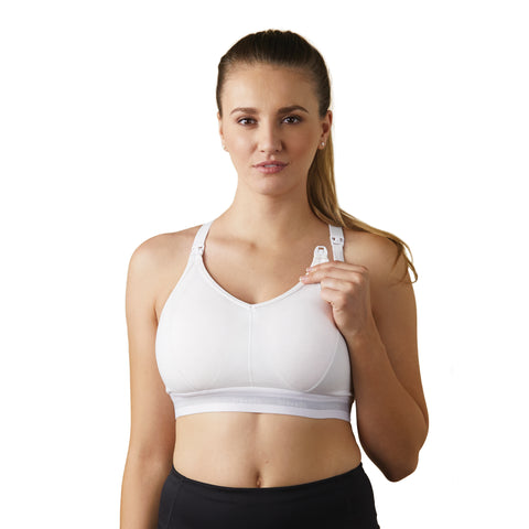 Bravado Designs Original Nursing Bra Full Cup White