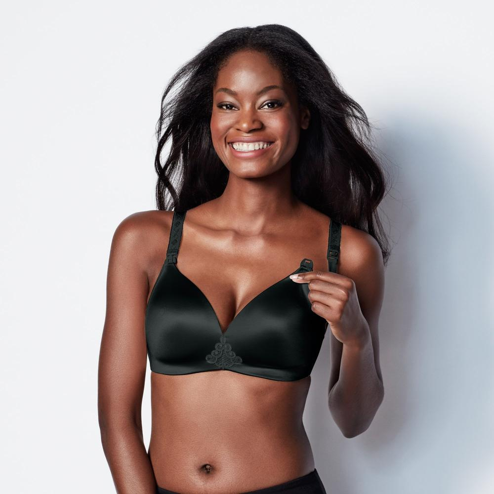 Bravado Bliss Contour Wire Free Nursing Bra Black
