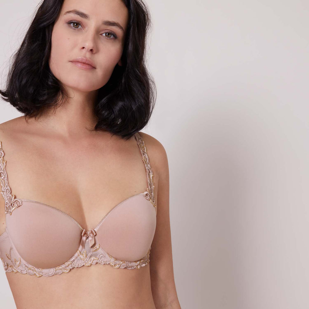 Simone Perele Andora 3D Demi Spacer Bra Antique Rose