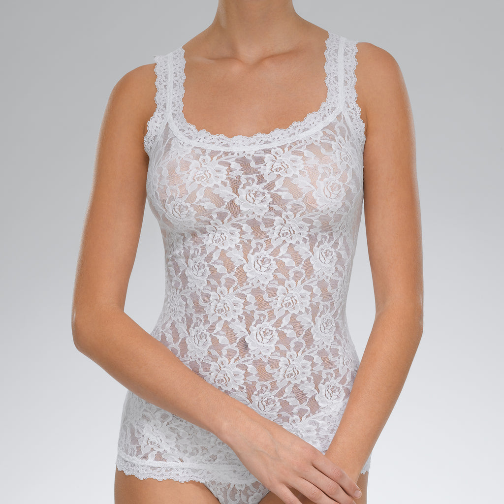 Hanky Panky Signature Lace Classic Camisole White