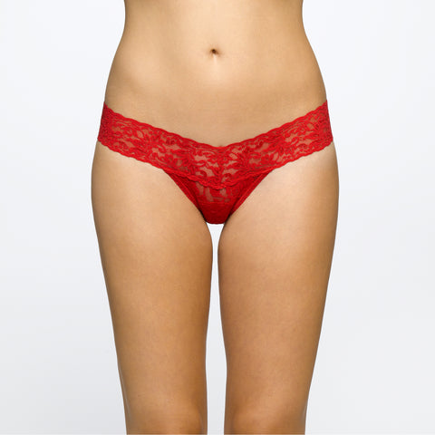Hanky Panky Signature Low Rise Thong Red