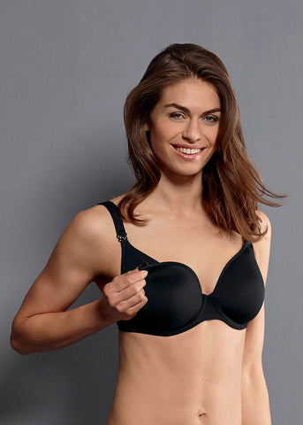 Anita Miss Anita Spacer Cup Underwire Nursing Bra black