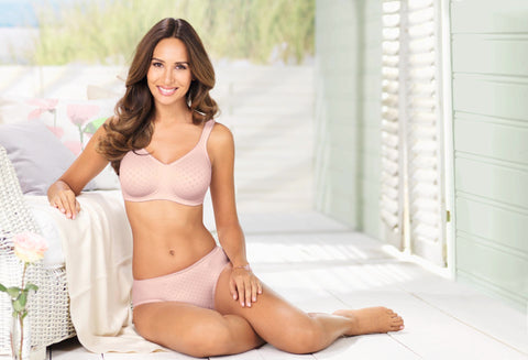 Anita Lisa Seamless Wire Free Bra Soft Rose