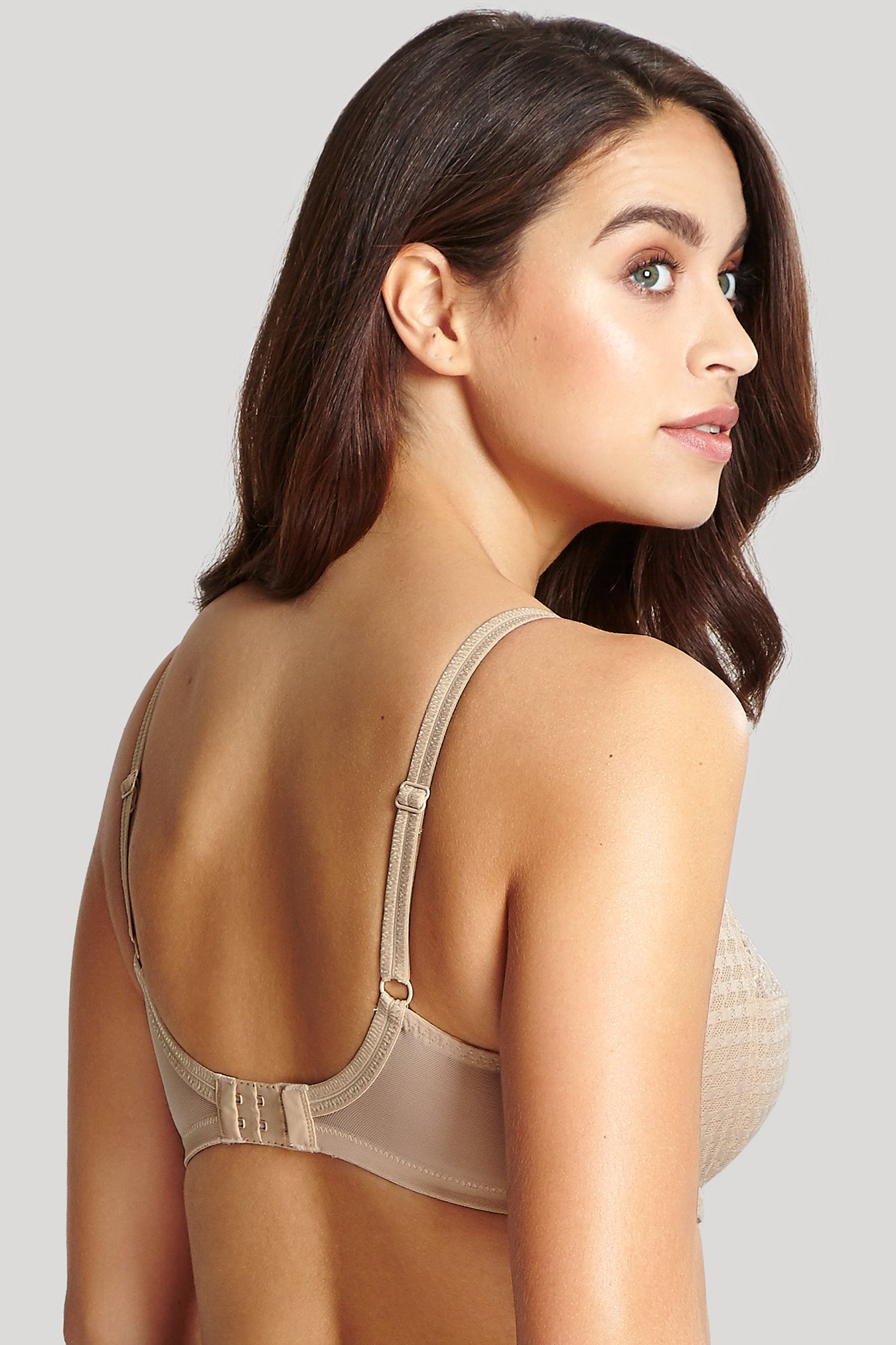 Montelle The Essentials Pure Racer Underwire Racerback Bra 36B Nude