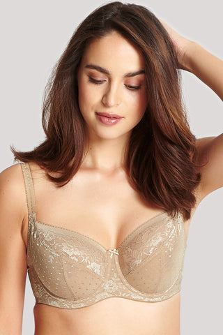 Panache Olivia Balconette Underwire Bra Honey