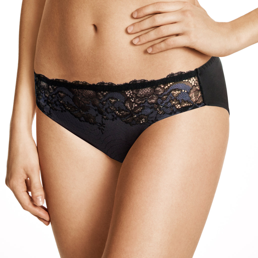 Wacoal Lace Affair Bikini Black/Graphite