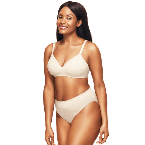 Wacoal How Perfect Contour Wire Free Bra Nude