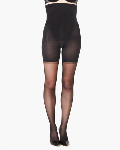Spanx High-Waisted Shaping Sheers Black