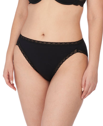 Natori Bliss Cotton French Brief Black
