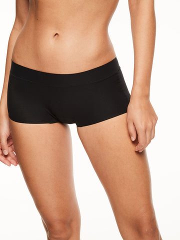 Chantelle Seamless Soft Stretch Boyshort Black