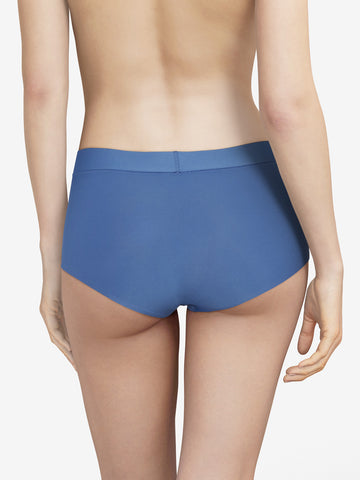 Chantelle Seamless Soft Stretch Boyshort Northern Blue