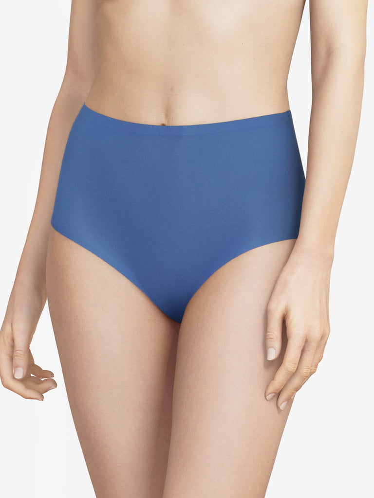 Chantelle Seamless Soft Stretch High Waist Brief Northern Blue