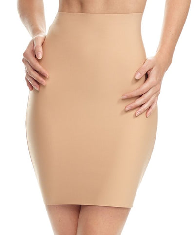 Commando Two Faced Tech Half Slip Beige