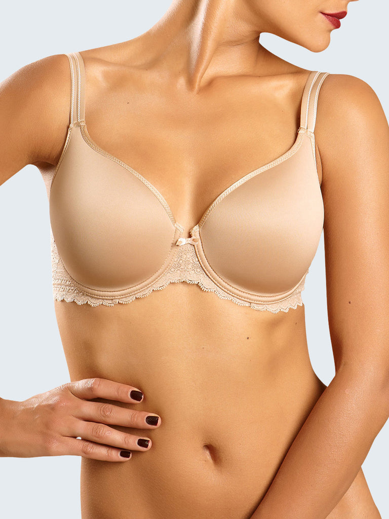 Chantelle Merci Demi Spacer Bra Nude