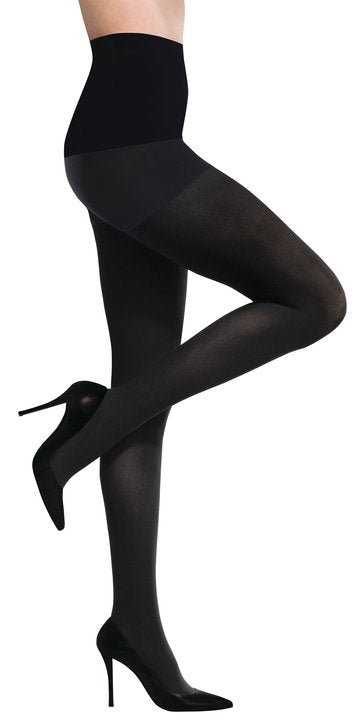 Commando Ultimate Opaque Control Tights Black