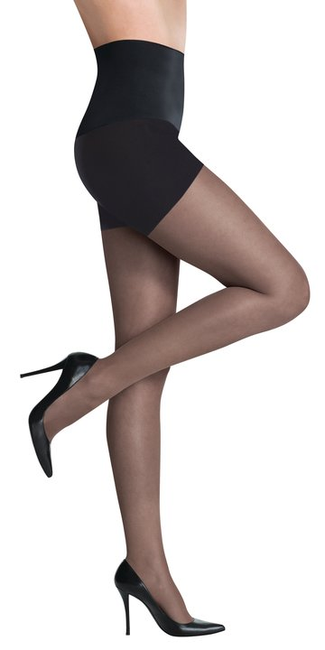Commando The Keeper Sheer Control Tights Black