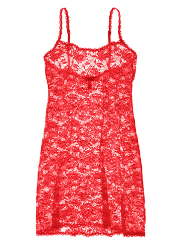 Cosabella Never Say Never Foxie Chemise Mystic Red