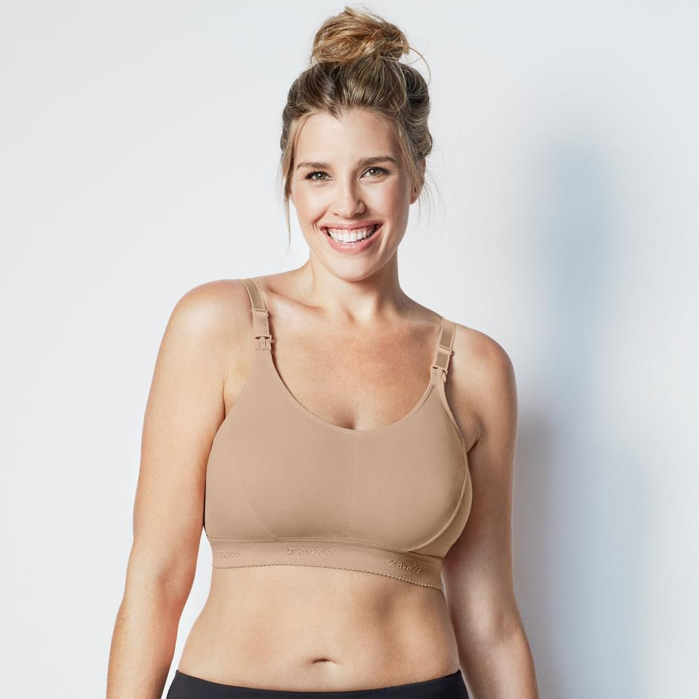 Bravado Designs Original Nursing Bra Plus v1 Butterscotch