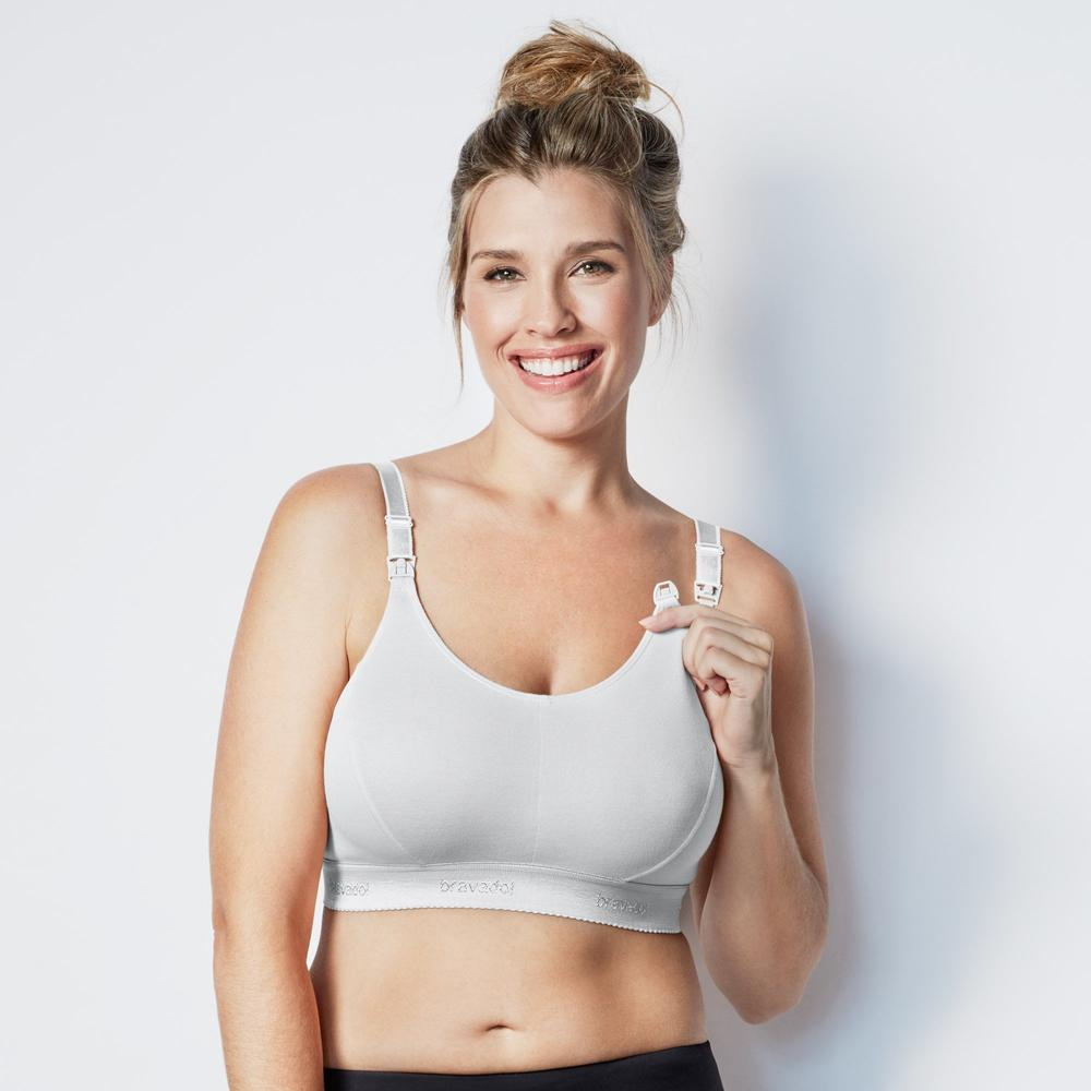 Bravado Designs Original Nursing Bra Plus v1 White