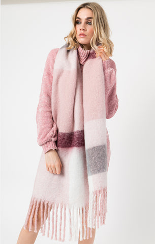 Pia Rossini Connolly Scarf Blush